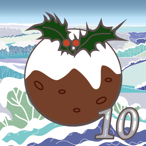 Advent 10 What is figgy pudding